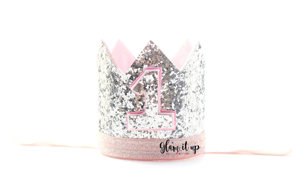 First Birthday Crown - Winter Onederland Crown