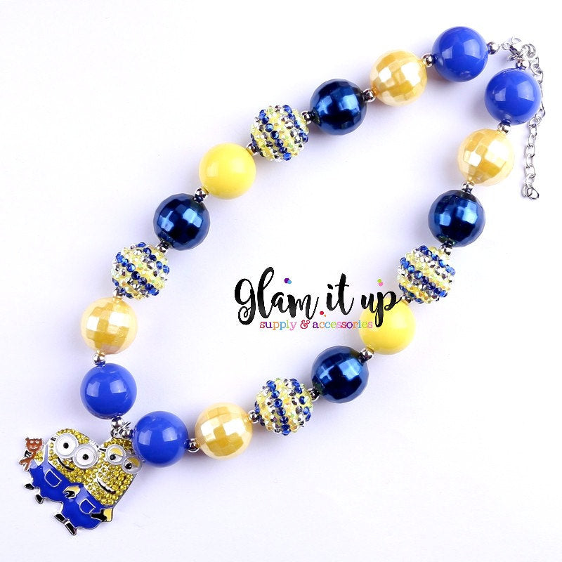 Minion Chunky Necklace
