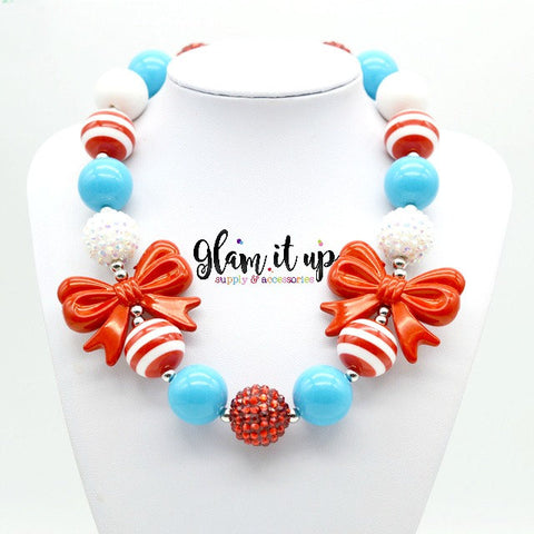Dr Suess Necklace - Chunky Necklace