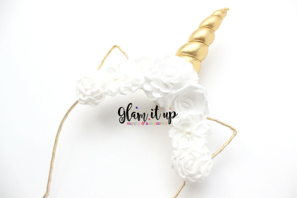 Unicorn Headband - White