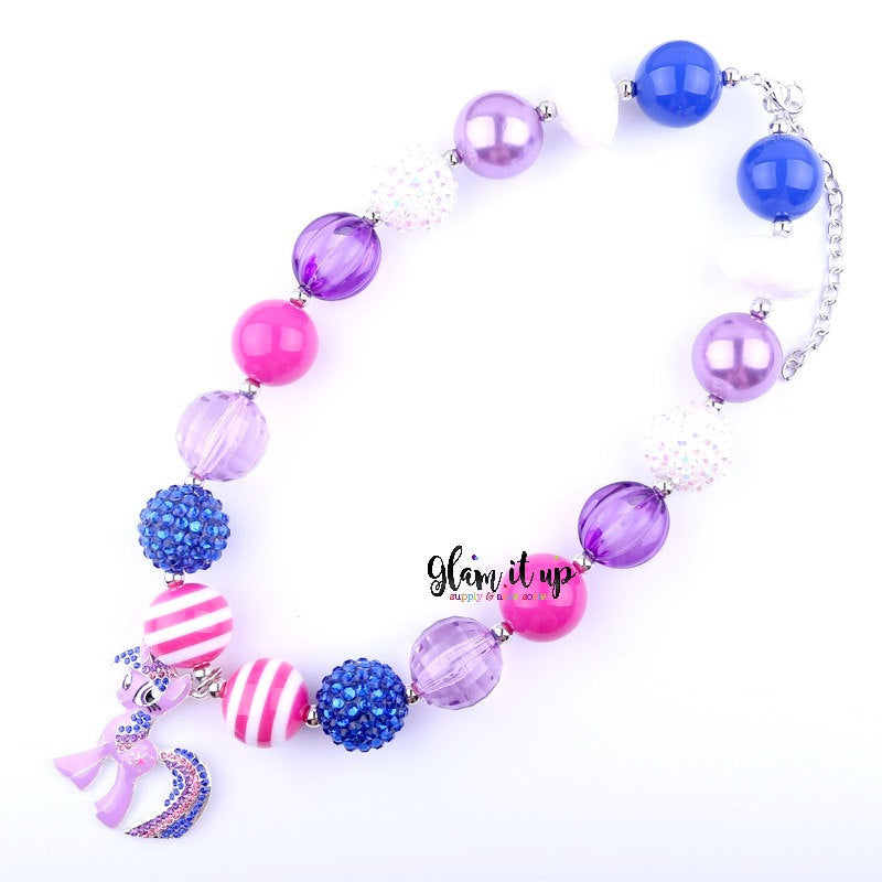 My Little Pony Necklace - Twilight Sparkle MLP