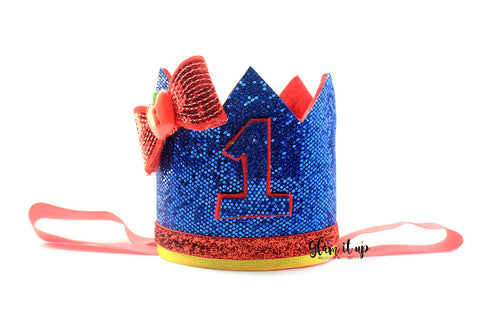 Snow White Birthday Crown - Birthday Hat