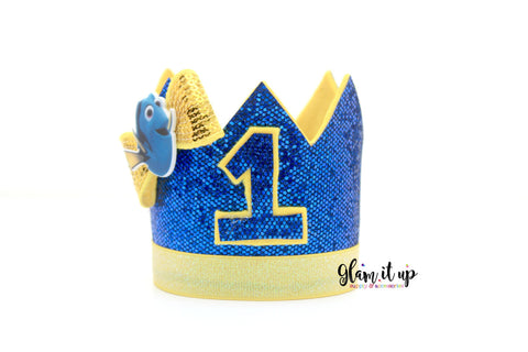 Dory Birthday Crown - Birthday Hat