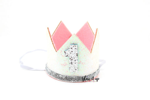 First Birthday Crown - Birthday Hat