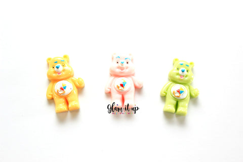 Care Bear Hair Bow Center