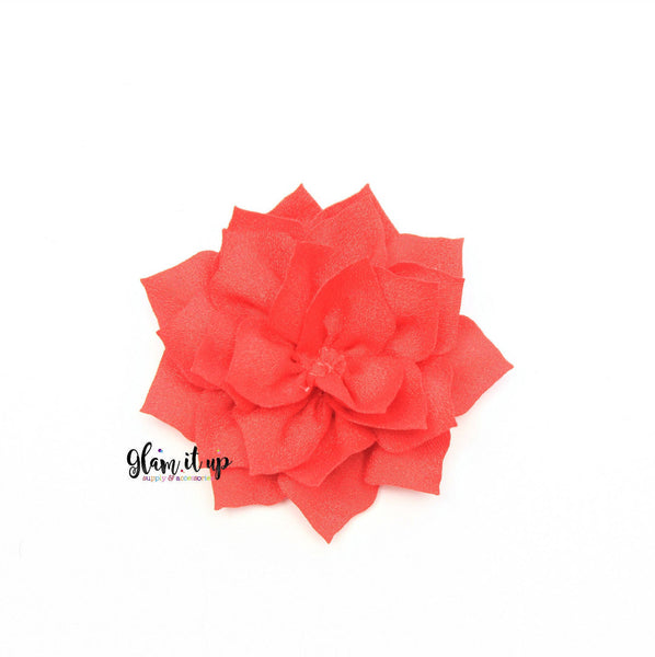 "Lotus Red 3"" Flower"