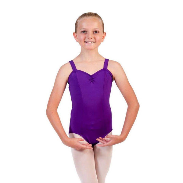 Attitude Dance Academy Adult's Rani Wide Strap Leotard - Embroidered