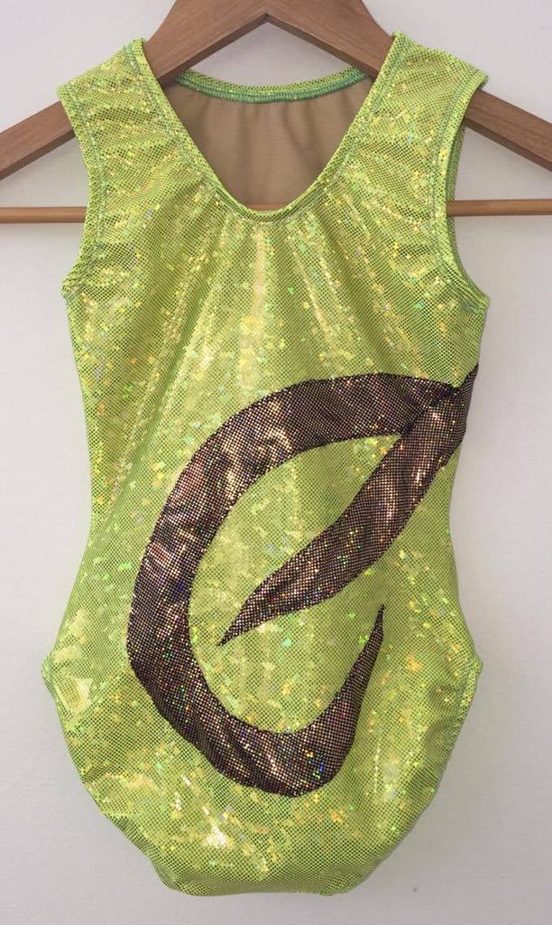 Swirls Gymnastics Leotard - Ditto Dancewear