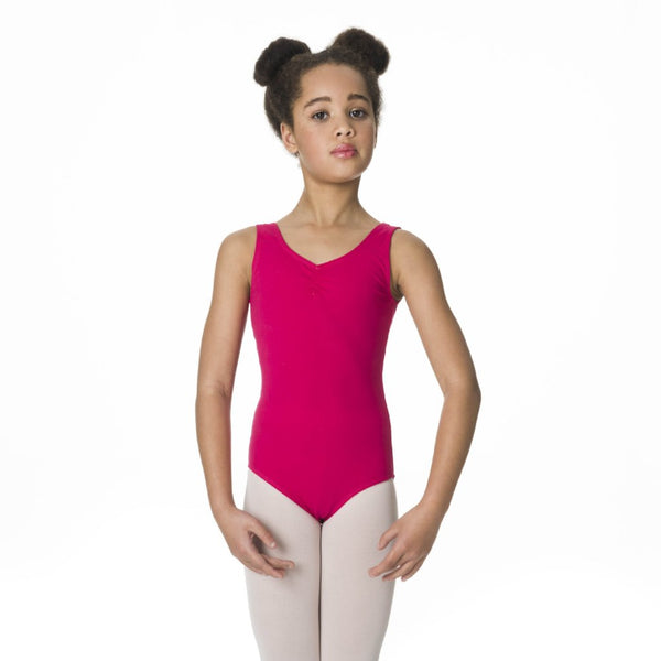 Studio 7 Children's Thick Strap Leotard - Mulberry