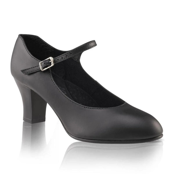 "Capezio 2"" Student Footlight Character Shoe - Black"