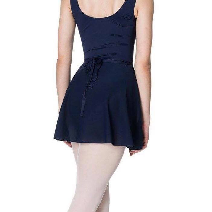 Studio 7 Children's Ballet Wrap Skirt - Navy
