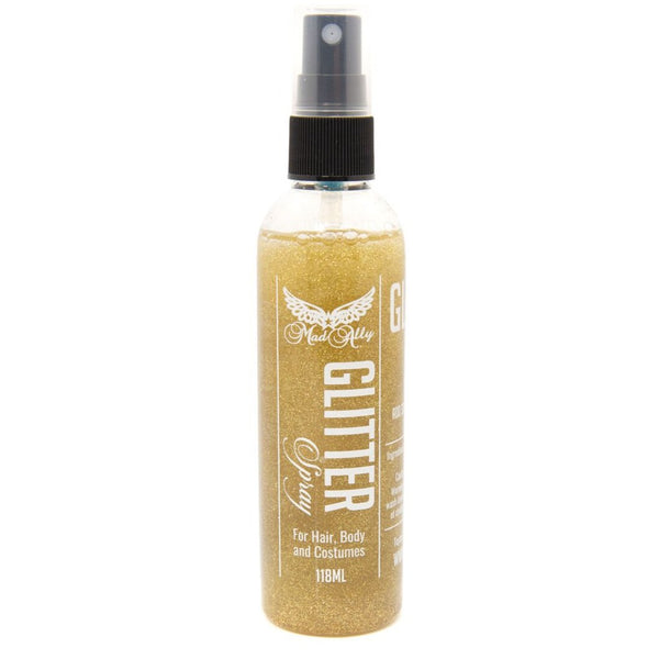 Mad Ally Glitter Spray - Gold