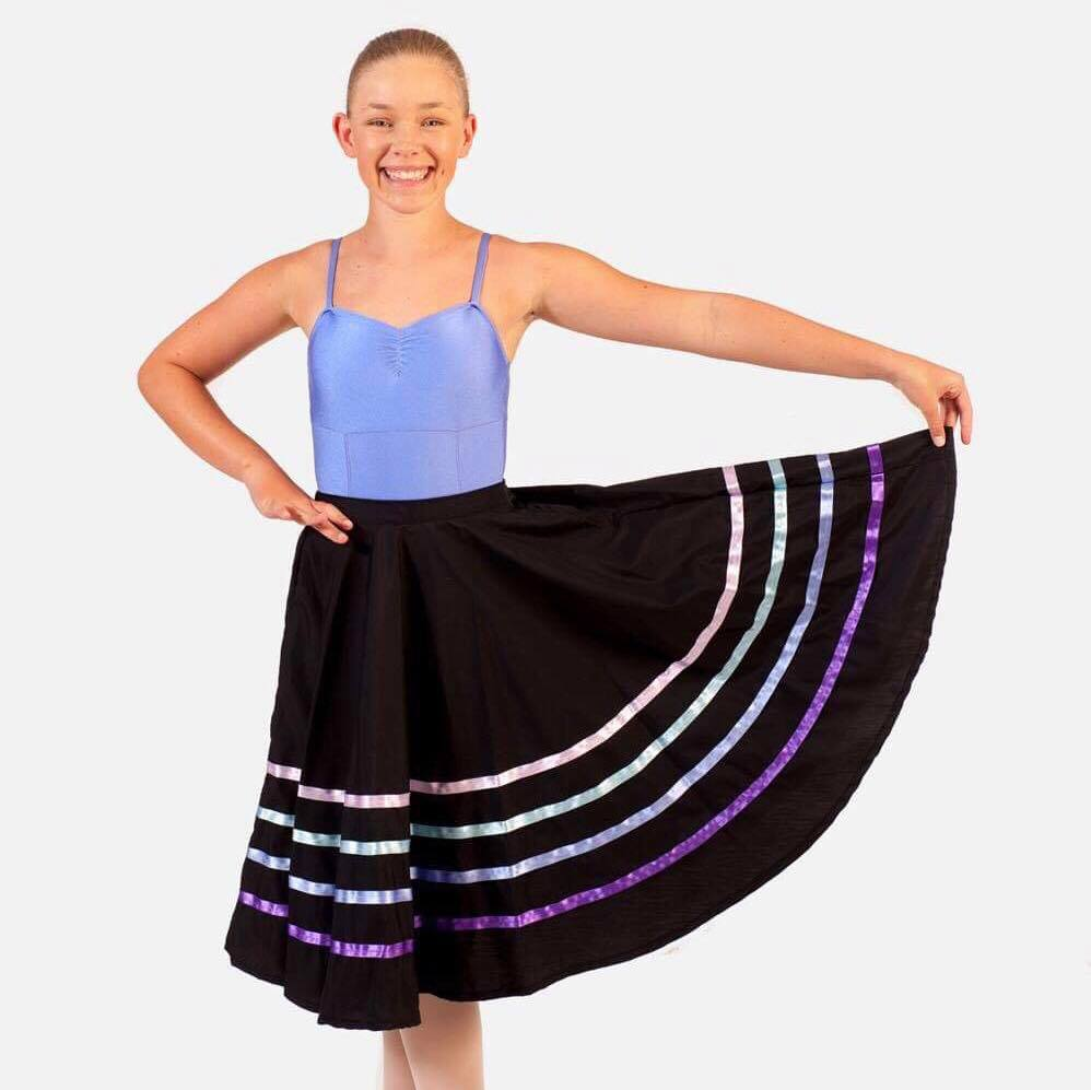 Kick Dance Studio Character Skirt