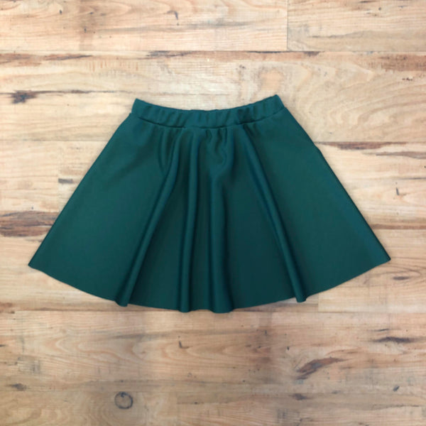 WIDA Half Circle Skirt (Adult) - Bottle Green