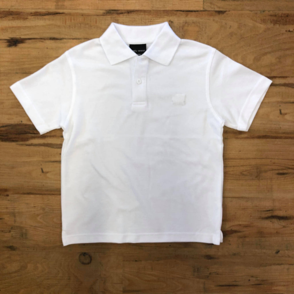 WIDA White Polo Shirt (Adult)