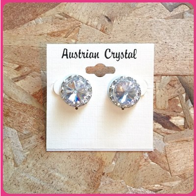 Austrian Crystal Stud Earrings - Ditto Dancewear