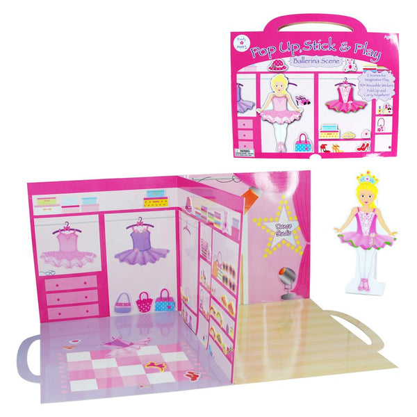Pink Poppy Ballerina Pop-Up Dance Studio
