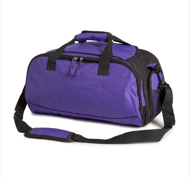 Bloch Two Tone Dance Bag - Purple/Black