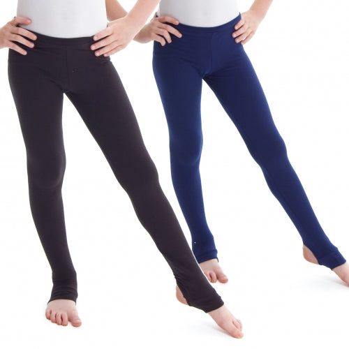 PW Dancewear Boys Stirrup Pants - Navy