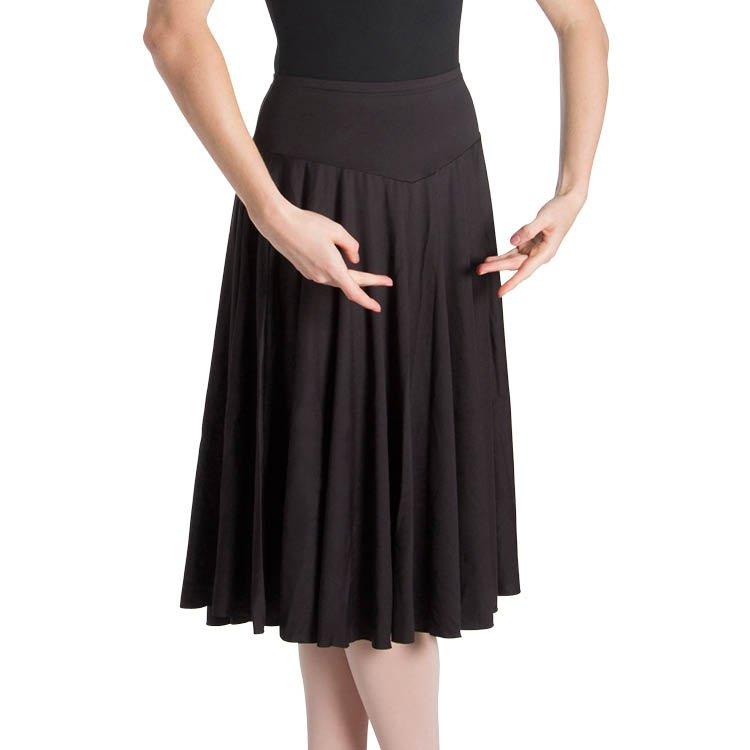 Bloch Womens Brianna Knee Length Skirt