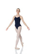 Studio 7 Adult's Camisole Strap Leotard - Navy