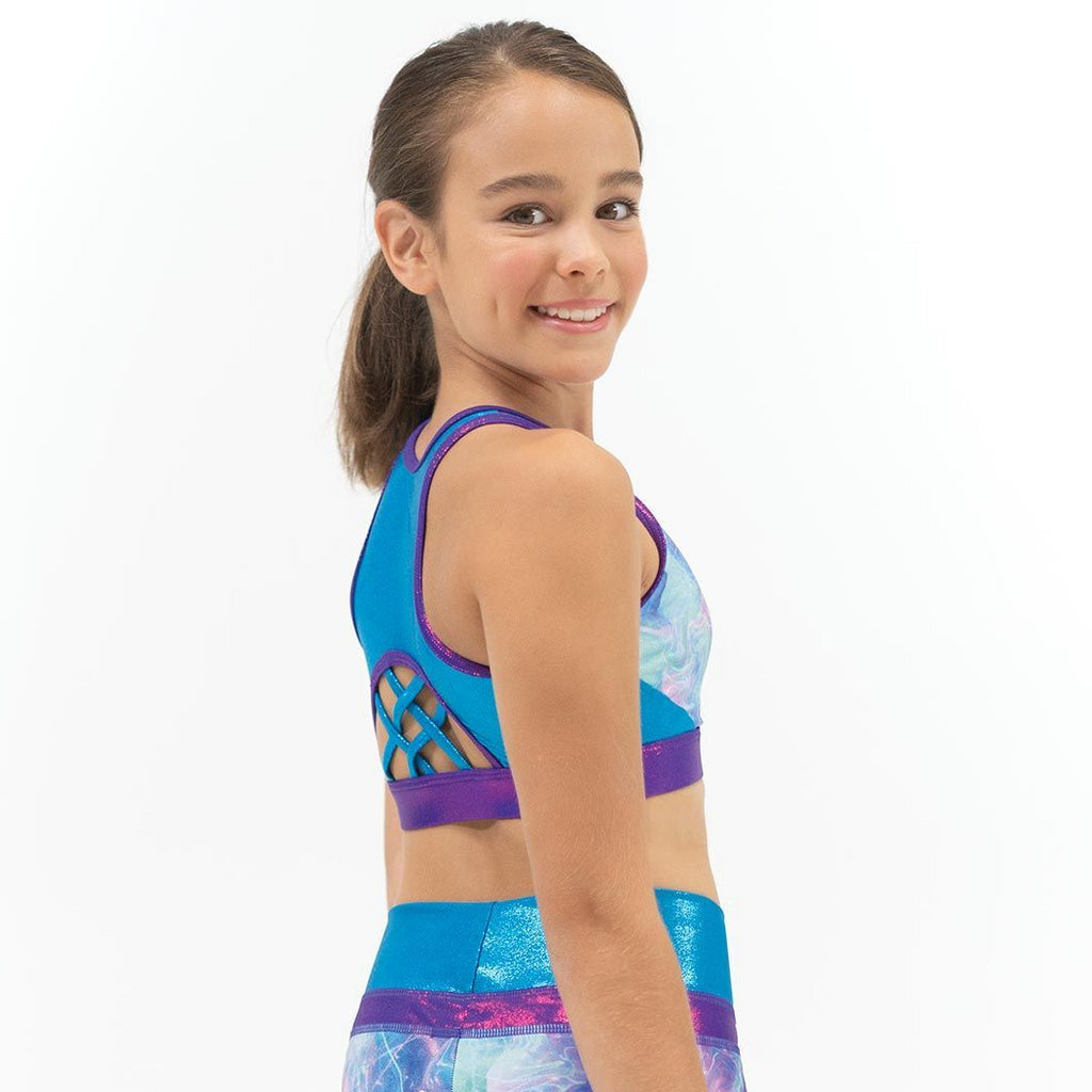 Capezio Children's High Neck Bra Top