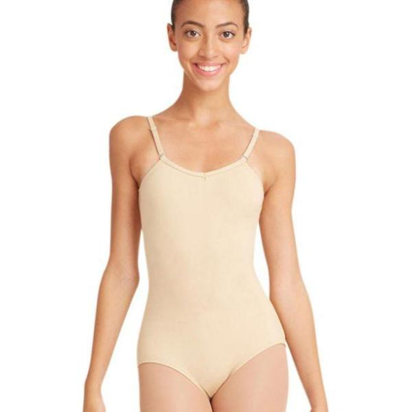 Capezio Cami Leo w/adjustable Straps - Adult
