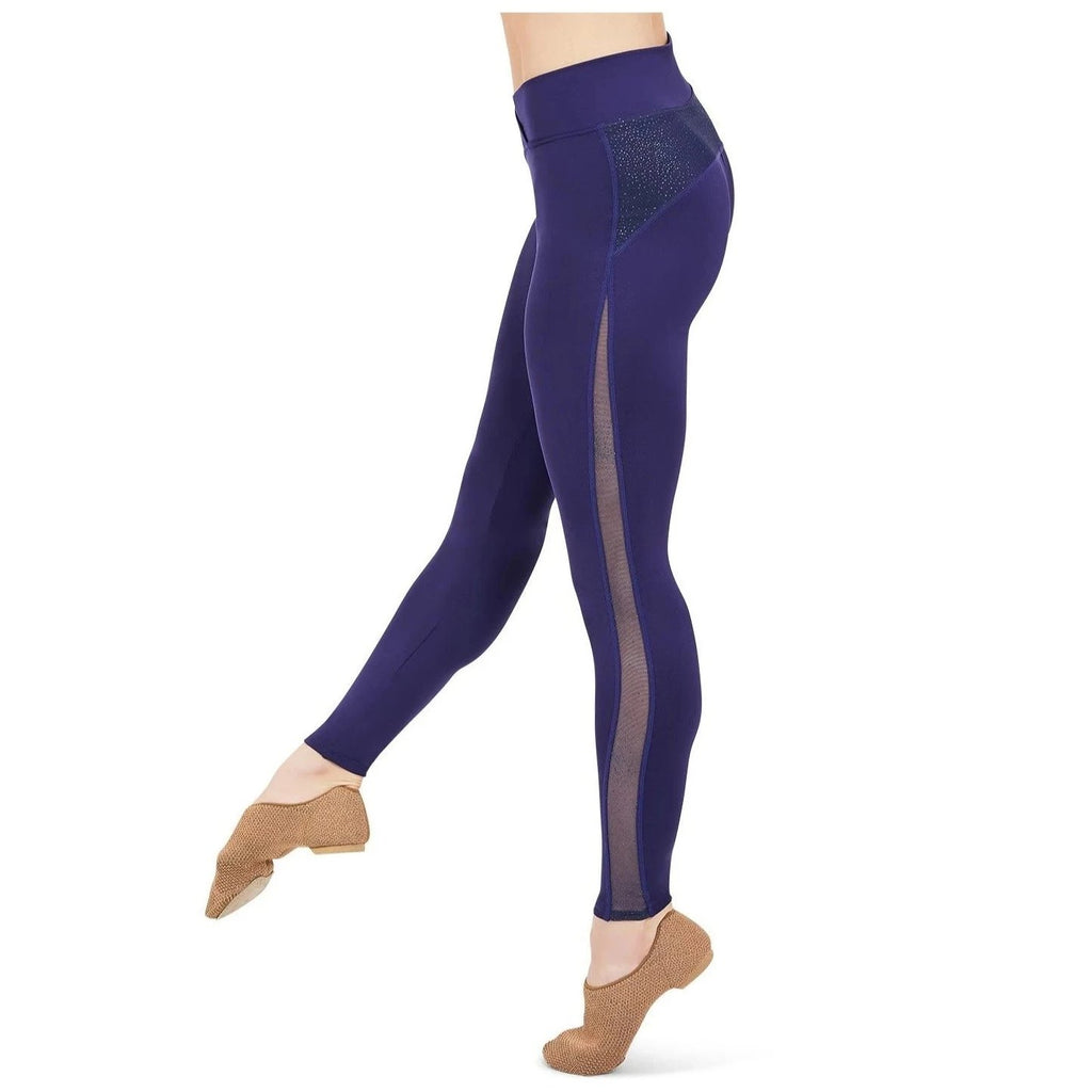Capezio Adult's Cosmos Cross Front Legging - Black ONLY
