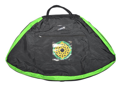 Costume Carrier - Black and Green Trim
