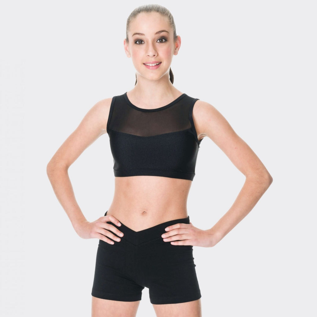 Studio 7 Children's Cotton Hot Shorts - Black