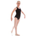 Paige Dunsdon Children's Cross Strap Leotard - Black