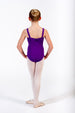 Attitude Dance Academy Children's Rani Wide Strap Leotard - Embroidered