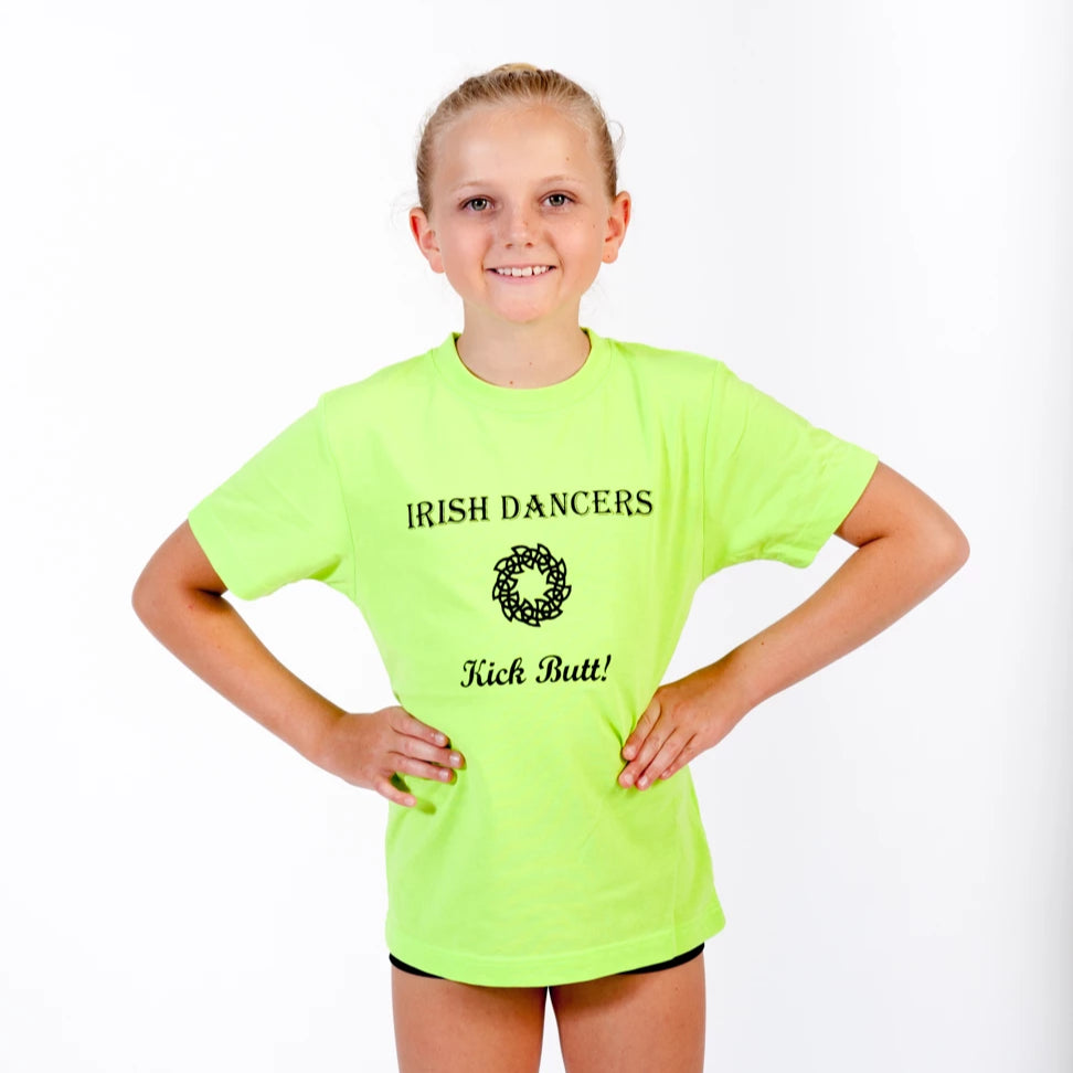 Irish-Dancers Kick Butt - Irish T-Shirt