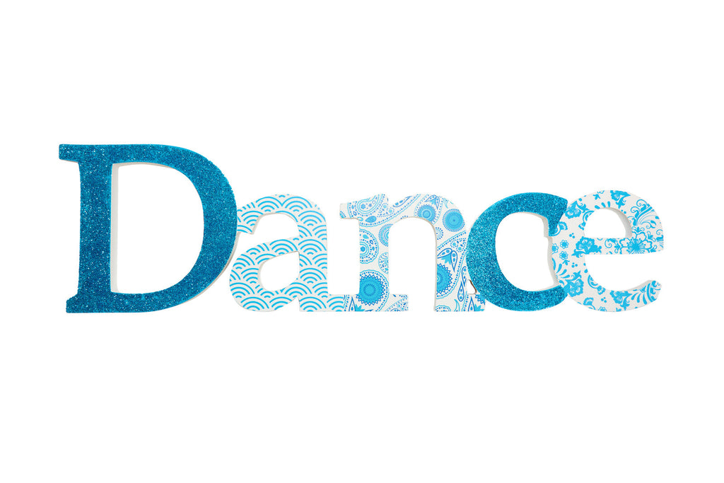 Dance Sign - Blue