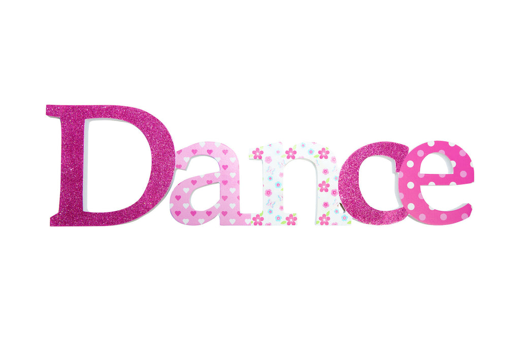 Dance Sign - Pink
