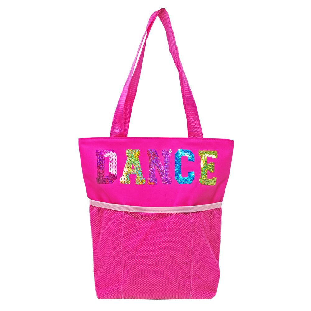Pink Poppy Dance Tote Bag - Pink