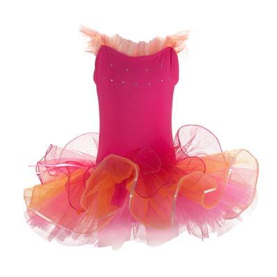 Pink Poppy Dancing Tutu - Hot Pink