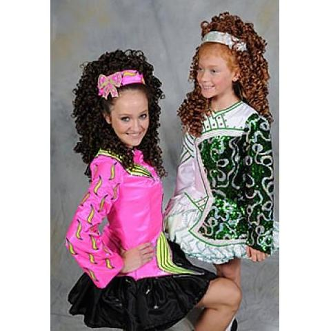 Danielle EXTRA Irish Dance Full Wig