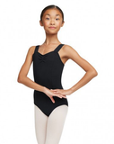 Capezio Children's Wide Strap Leotard - Black