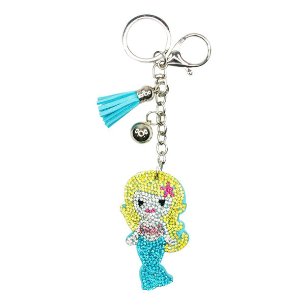 Pink Poppy Dazzling Mermaid Bag Charm