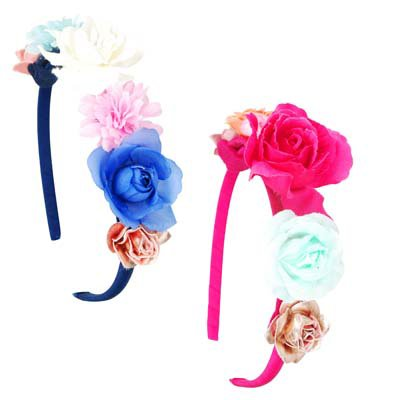 Fashion Parade Floral Headband - 2 colours available
