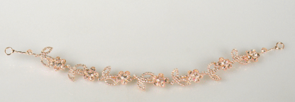 Floral Sparkle Hairpiece - Rose Gold