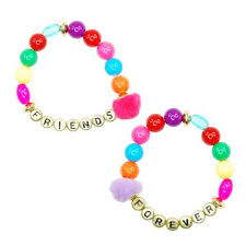 Pink Poppy Friends Forever Bracelet Set