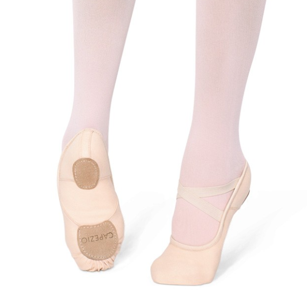 Capezio 'Hanami' Stretch Canvas Ballet Flat - Light Pink