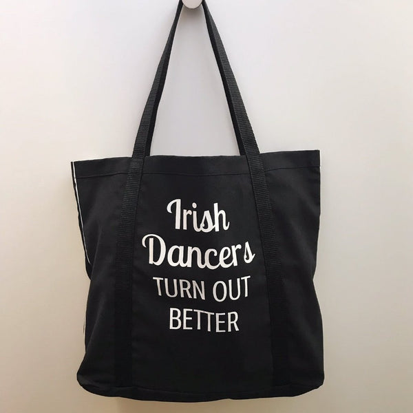 Irish Dancers Turn Out Better Tote Bag