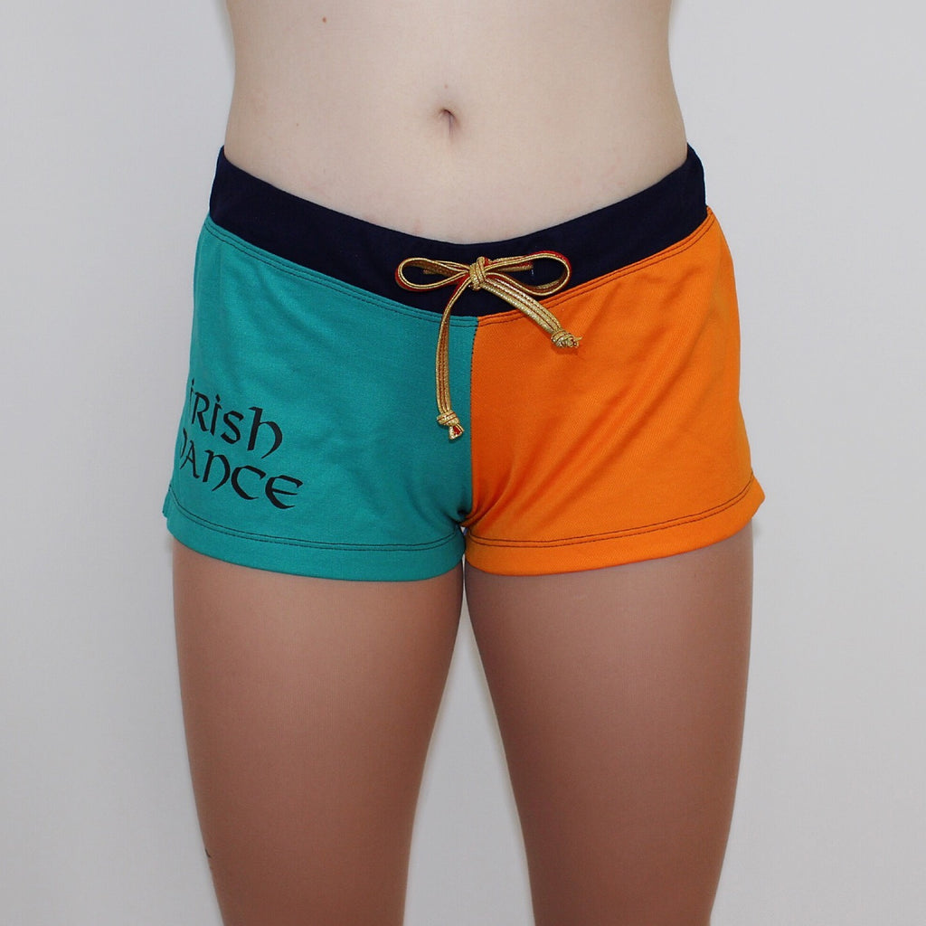 Ditto Dancewear Irish Dance Coloured Shorts