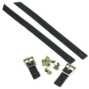 Jig Shoe Strap Replacement Kit - Black