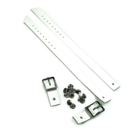 Jig Shoe Strap Replacement Kit - White