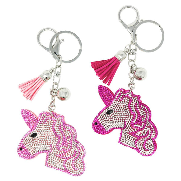 Pink Poppy Dazzling Unicorn Bag Charm