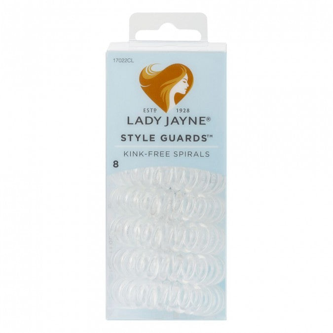 Lady Jayne Styleguards Kink-Free Spirals - Clear